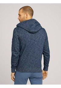 TOM TAILOR - Zip-up hoodie - dark blue - 2