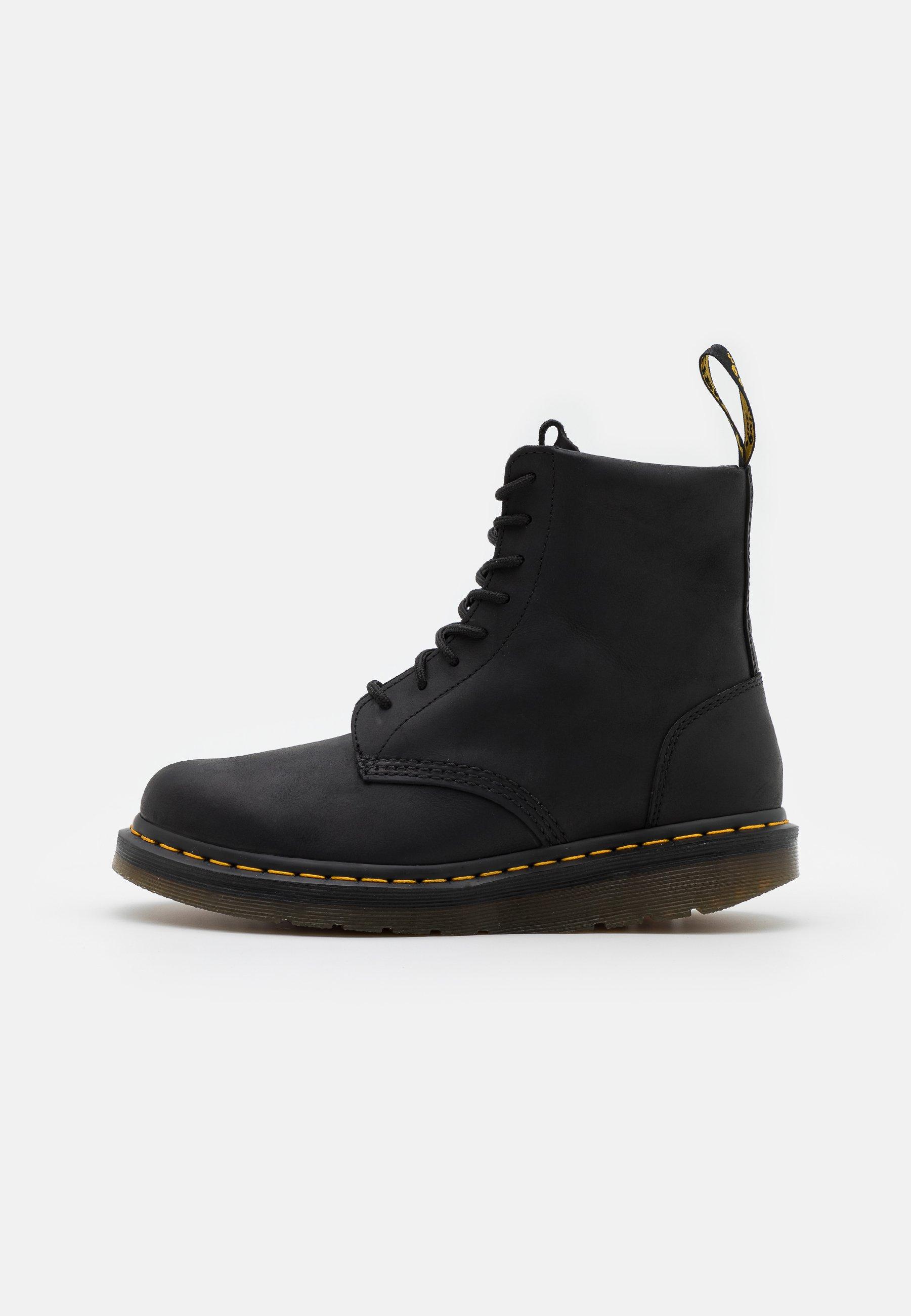 Men BERMAN - Lace-up ankle boots - black