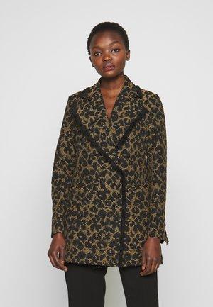 DORIA - Short coat - black
