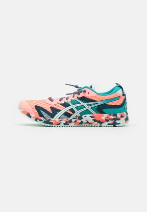 GEL-NOOSA TRI 12 - Competition running shoes - sun coral/bio mint