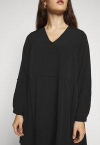 Vero Moda Curve - VMGABRINA SHORT SHIRT DRESS - Day dress - black - 5