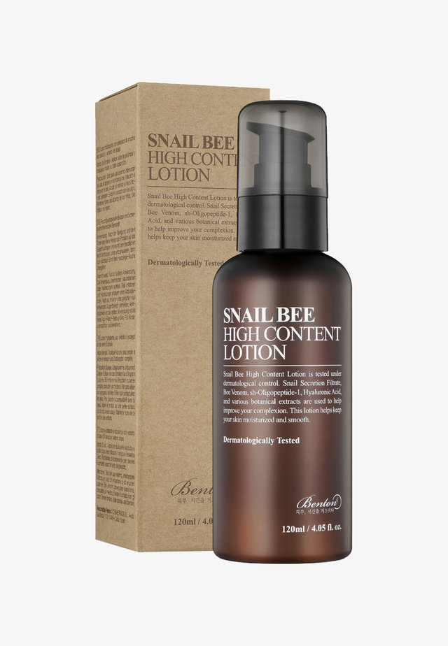 SNAIL BEE HIGH CONTENT LOTION - Moisturiser - -