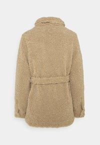 MAMALICIOUS - MLFLOF JACKET - Winter jacket - sesame - 1