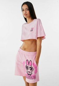 Bershka - POWERPUFF GIRLS - Short - pink - 3