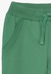 Friboo - 2 PACK - Teplákové kalhoty - light grey melange/bottle green - 4