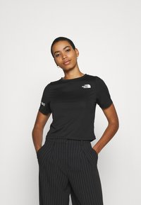 The North Face - T-shirt con stampa - black - 0