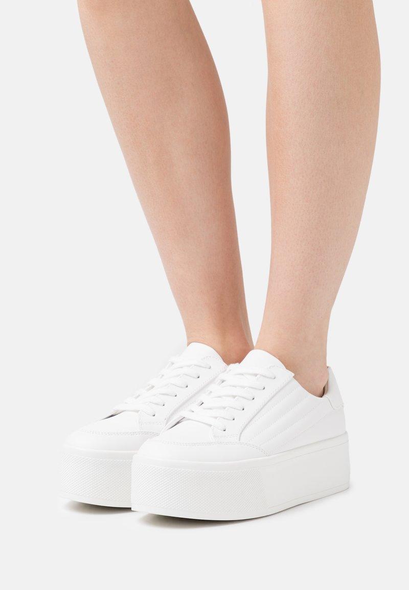 Even&Odd - Sneakersy niskie - white