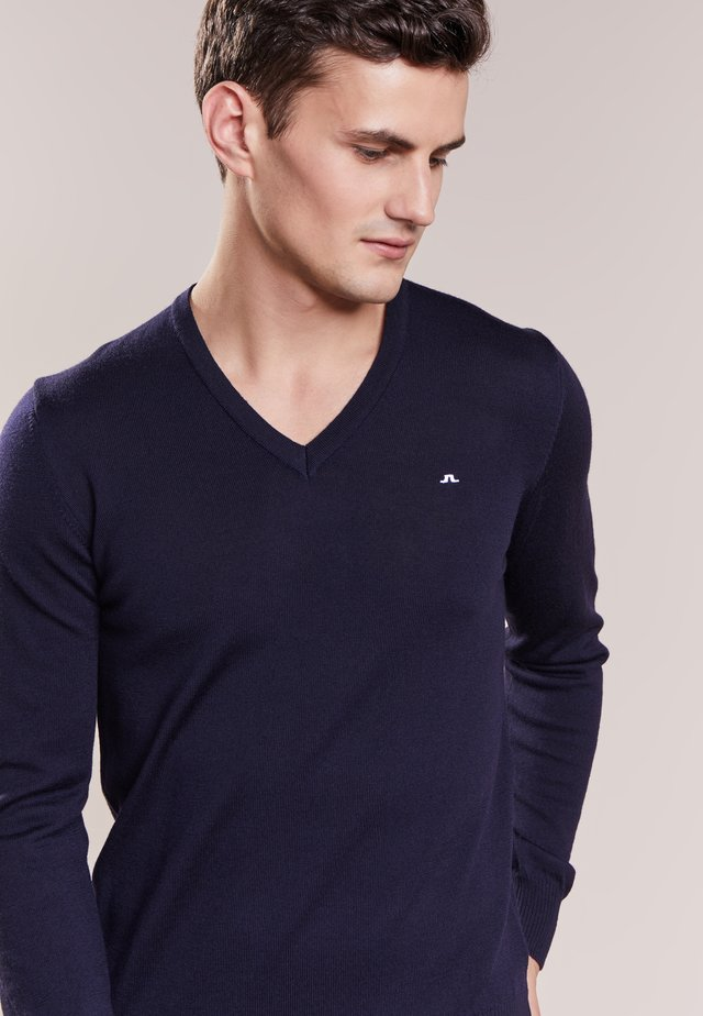 LYMANN - Jumper - navy