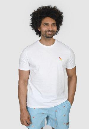 ICELOLLY  - T-shirt basic - white