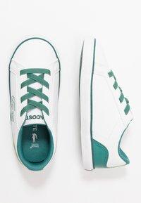 Lacoste - LEROND - Slip-ons - white/green - 0