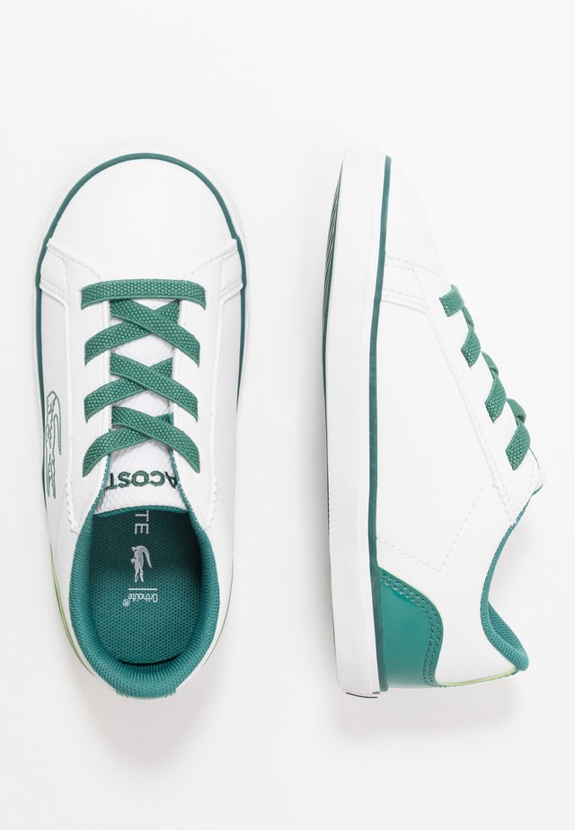 LEROND - Mocassins - white/green