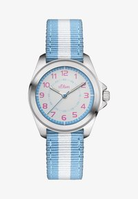 s.Oliver - Watch - blue/white - 1