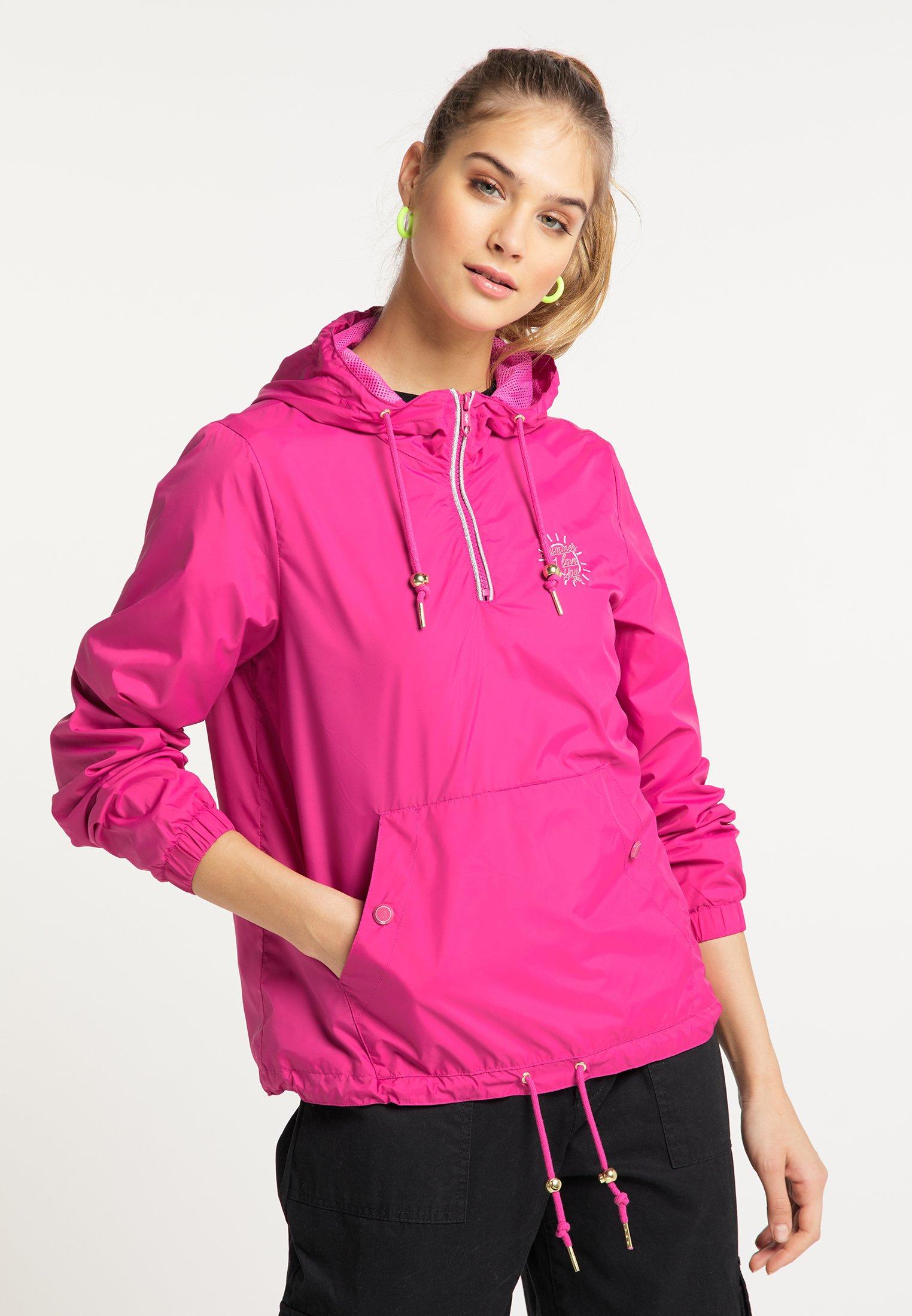 Affordable Women's Clothing myMo SCHLUPFJACKE Windbreaker pink V59aVxzC6