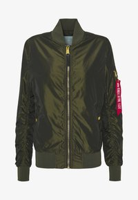 Alpha Industries - IRIDIUM - Bomberjacks - dark green - 4