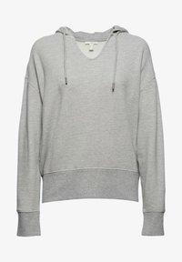 edc by Esprit - RELAXED - Hoodie - medium grey - 7