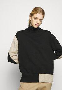 MM6 Maison Margiela - Pullover - black/beige - 6