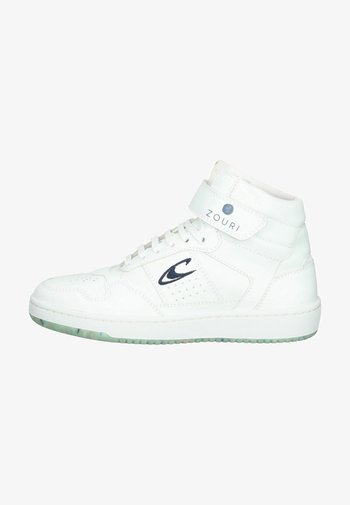 High-top trainers - bright white 1fg