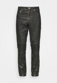 Han Kjøbenhavn - PANTS  - Kožené kalhoty - black - 3