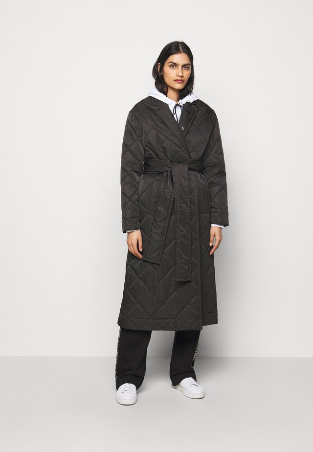 FABECCA - Trenchcoat - black