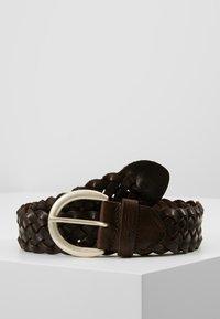 TOM TAILOR - Braided belt - dark brown - 0