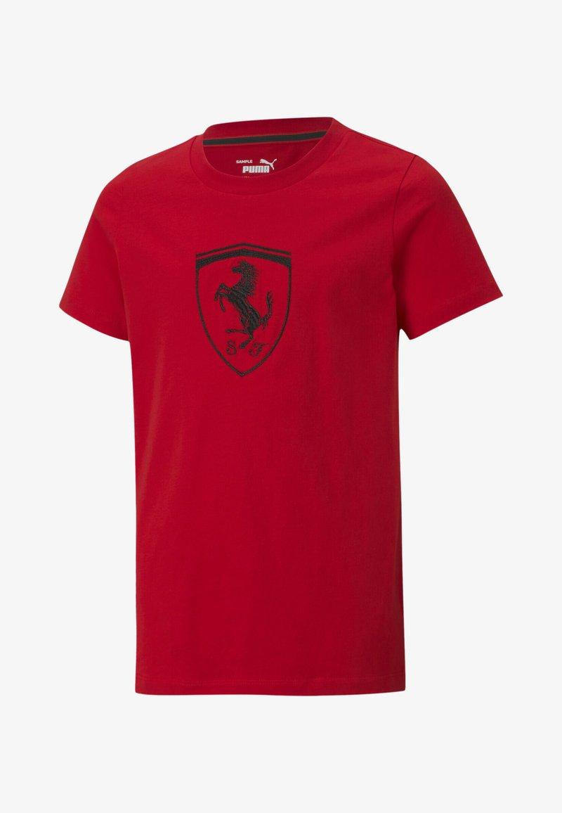 Puma - FERRARI RACING  - Print T-shirt - rosso corsa