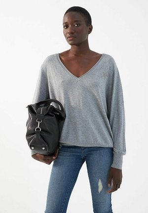WITH ADDED - Jumper - gris clair china