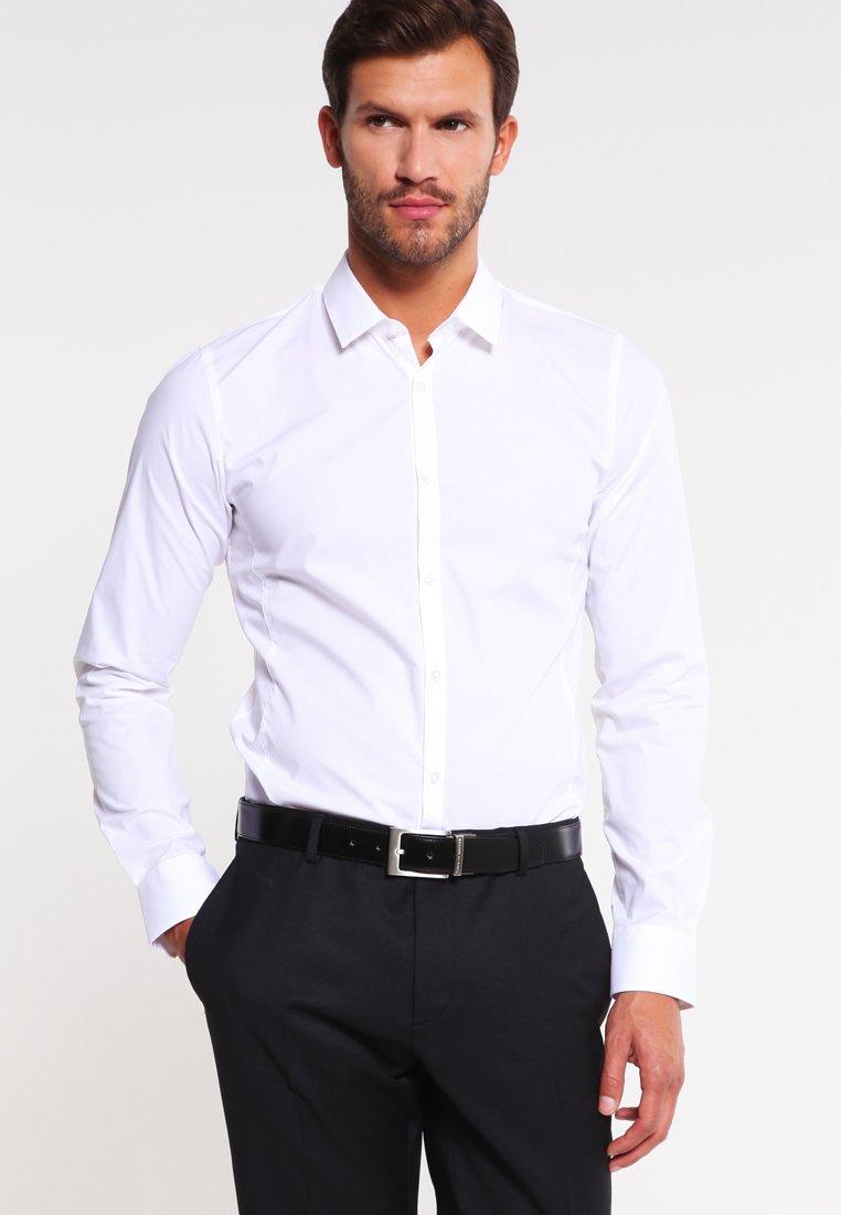 HUGO - ENIN EXTRA SLIM FIT  - Formální košile - open white