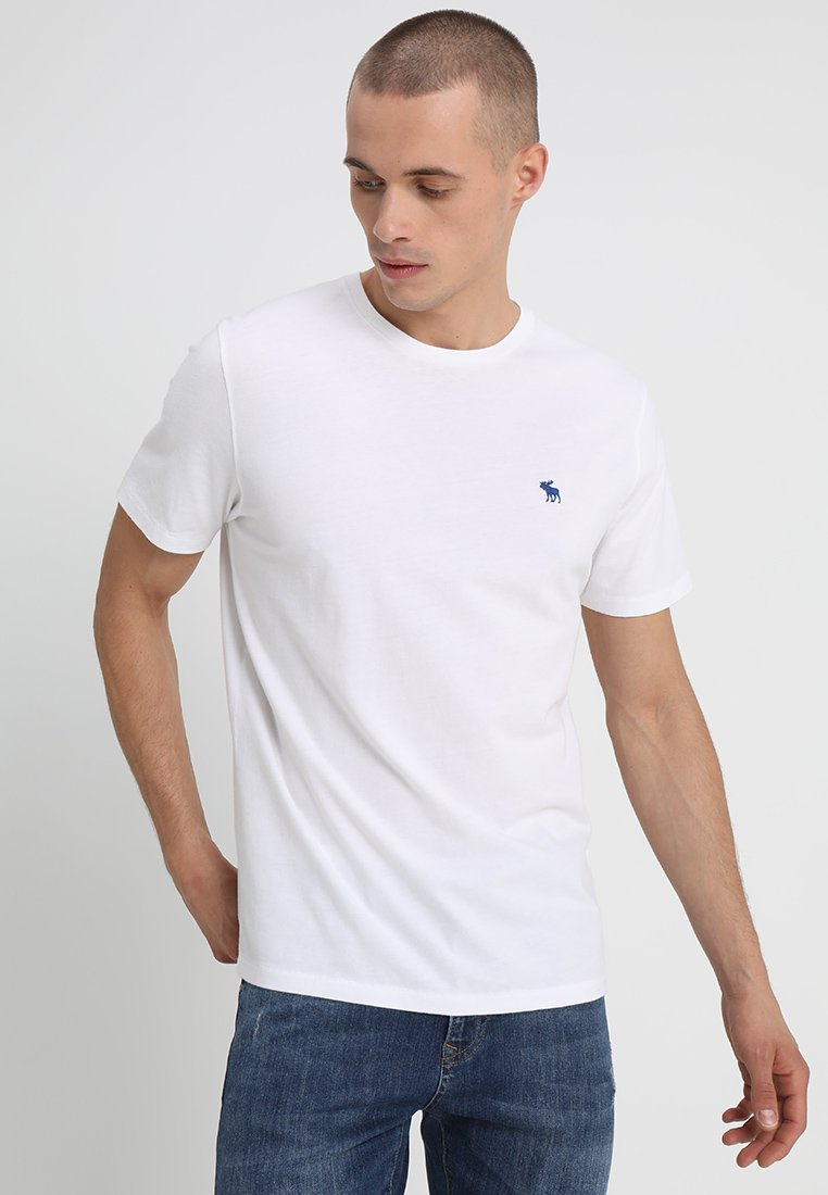 Abercrombie & Fitch 3 Pack - T-shirt Basic Blue/white/grey