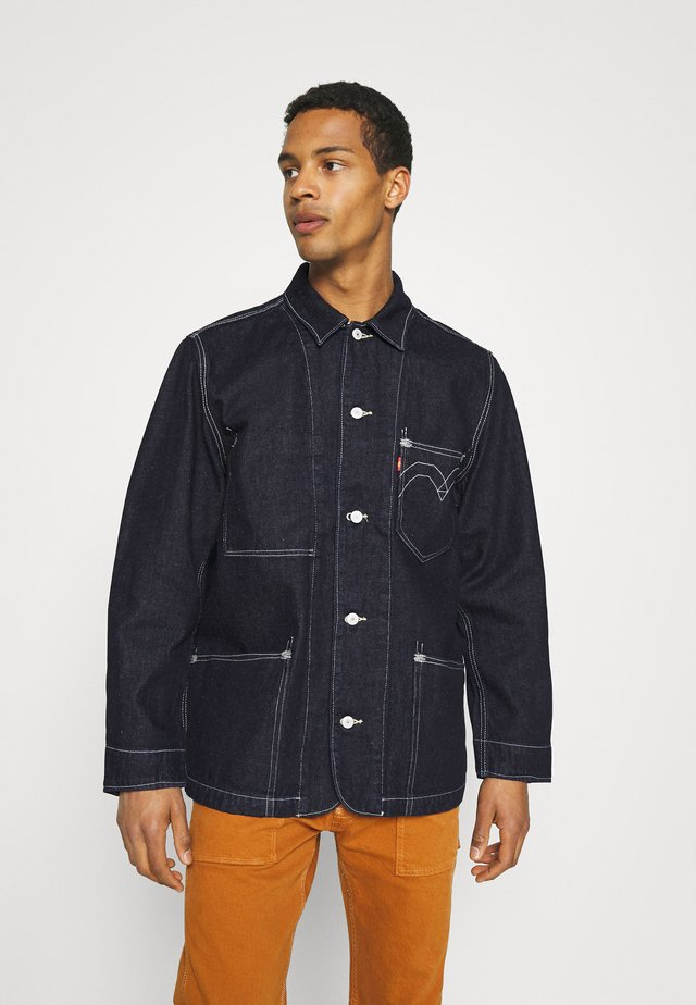 ENGINEERED COAT UNISEX - Denim jacket - dark indigo