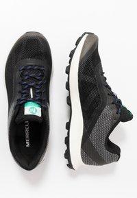 Merrell - SKYFIRE - Trail running shoes - black - 1