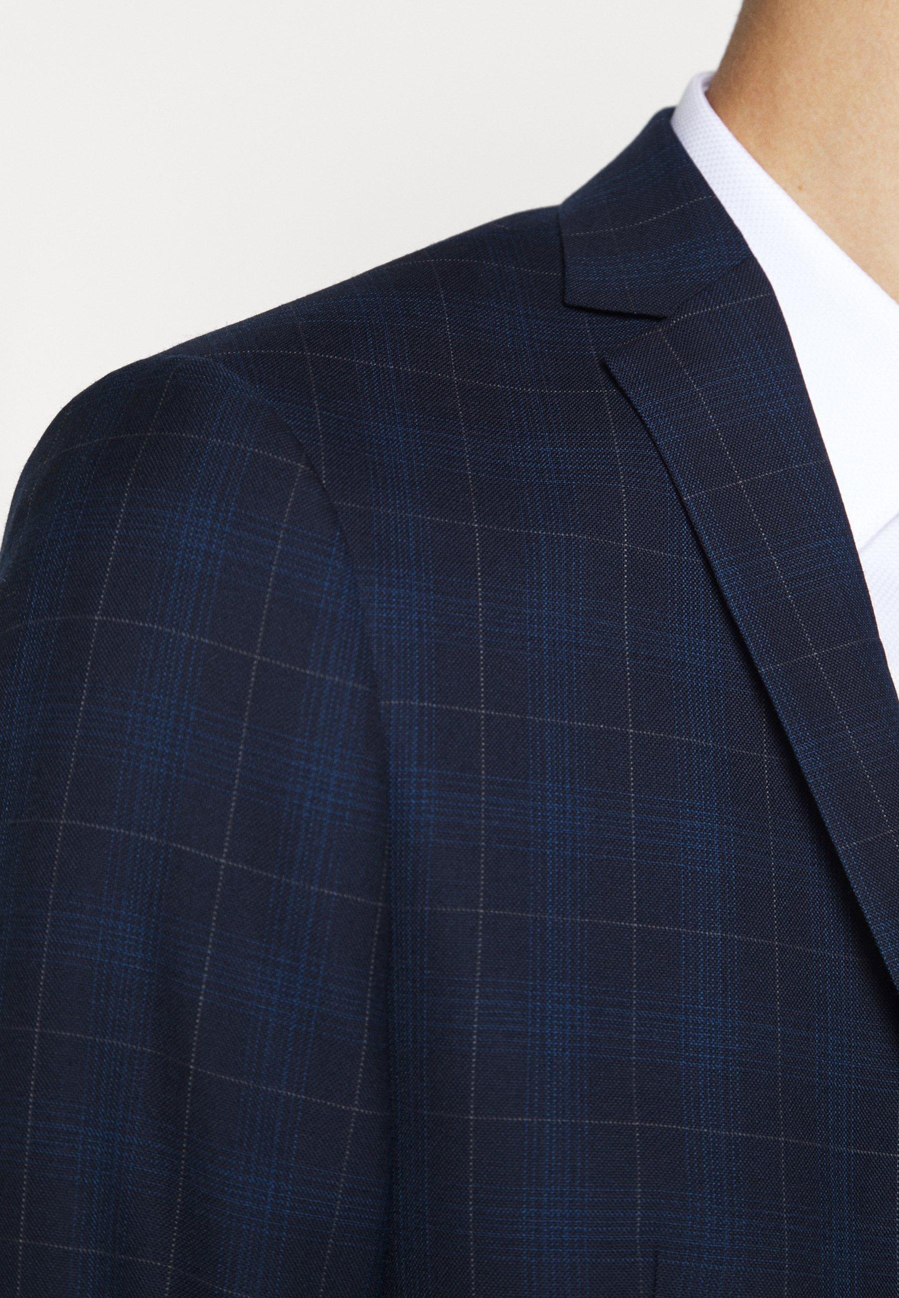 Mejor Proveedor Ropa de hombre Tiger of Sweden JULES Chaqueta de traje dark blue eNVsU5
