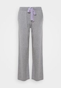 RING MASTER TRACK PANTS - Tracksuit bottoms - grey/lilac/blue