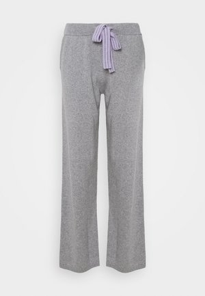 RING MASTER TRACK PANTS - Pantalon de survêtement - grey/lilac/blue
