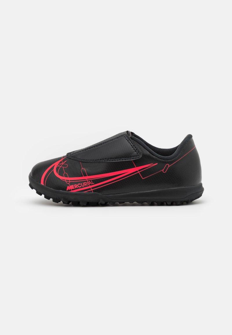Nike Performance - MERCURIAL JR VAPOR 14 CLUB TF UNISEX - Astro turf trainers - black/cyber