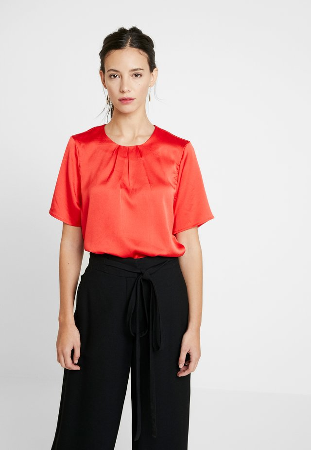 FOLDY BLOUSE - Camicetta - high risk red