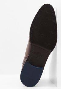 Giorgio 1958 - Šněrovací kotníkové boty - marrone/blu - 4