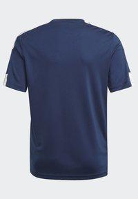 adidas Performance - SQUAD UNISEX - Camiseta estampada - team navy blue/white - 3