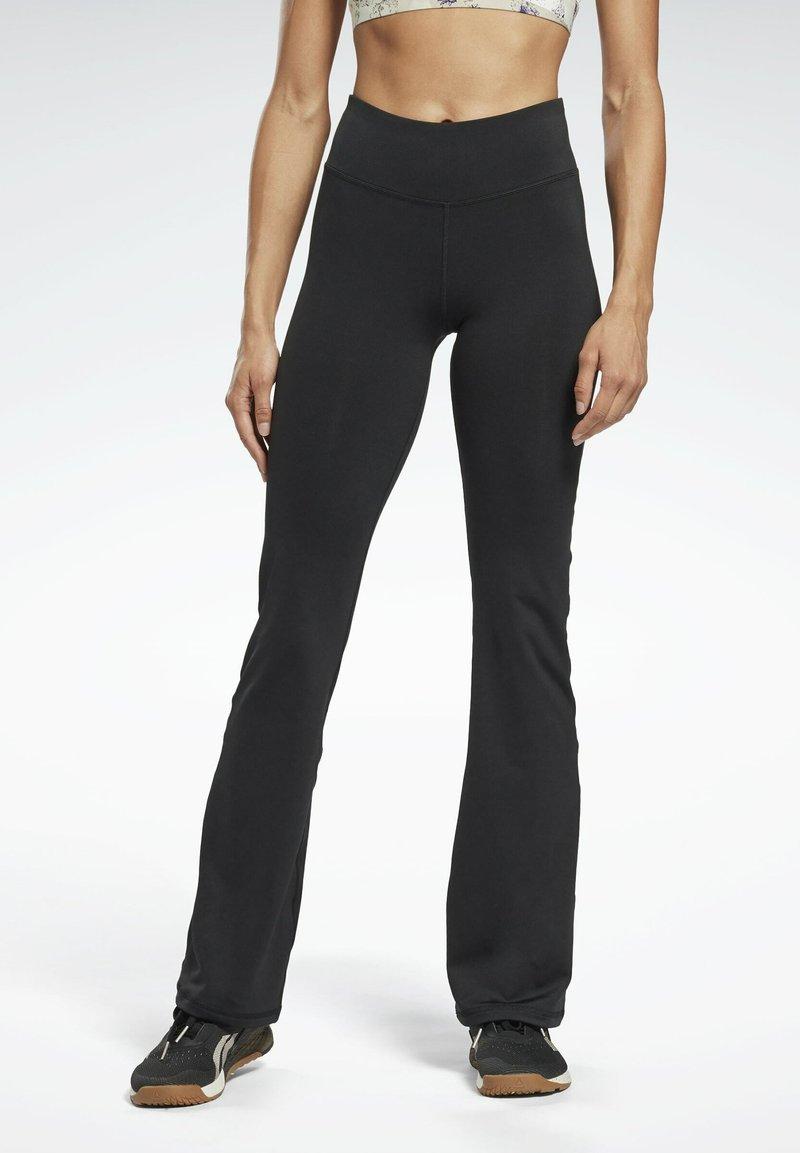 Reebok - PAUL POGBA BOOTCUT WORKOUT READY SPEEDWICK REECYCLED - Pantalones deportivos - black