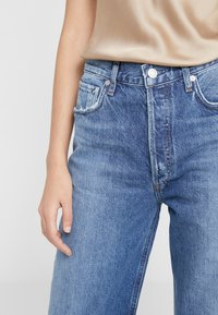 Agolde - REN WIDE LEG - Jeansy Relaxed Fit - blue denim - 5