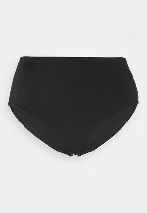 AVA HIGHWAIST SWIM BOTTOM - Bas de bikini - black