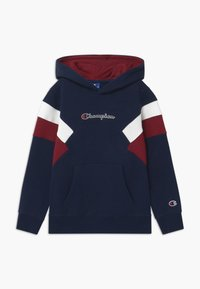 Champion - ROCHESTER CHAMPION LOGO HOODED - Hoodie - dark blue - 0