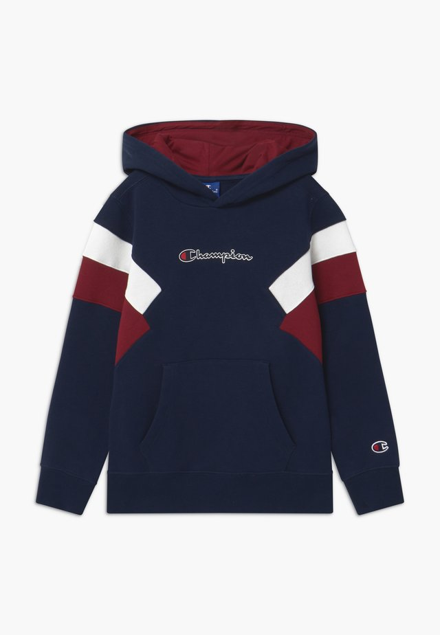 ROCHESTER CHAMPION LOGO HOODED - Hoodie - dark blue