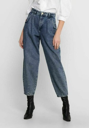 Jeansy Relaxed Fit - medium blue denim