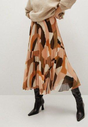 PALOMA-A - A-line skirt - orange