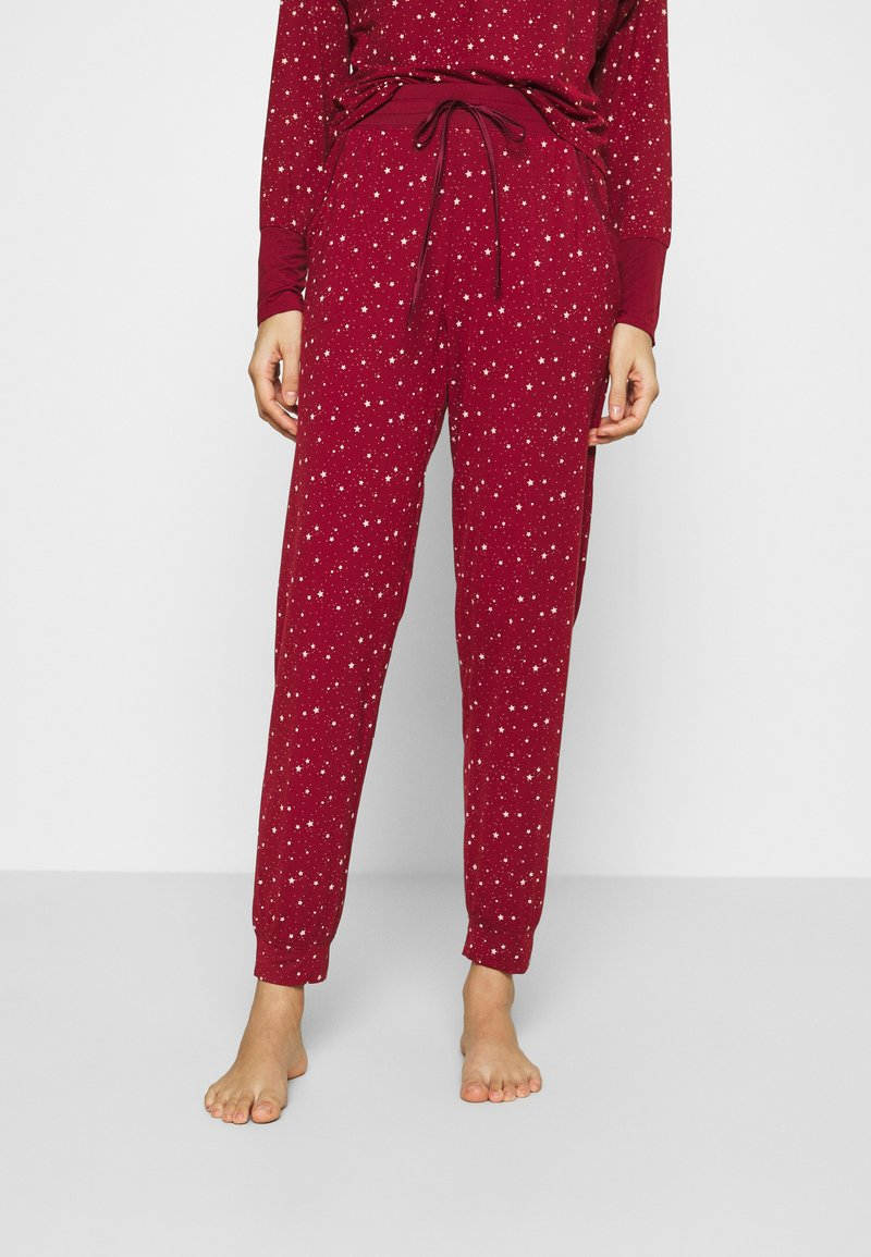 GAP - JOGGER - Pyjama bottoms - red delicious