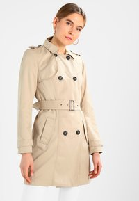Vila - VITHREE LONG - Trenchcoat - soft camel - 0