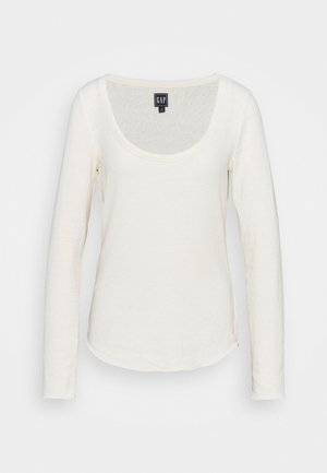SNOW NEPP - Long sleeved top - oyster