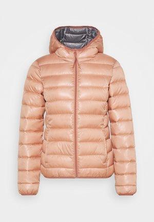 Winter jacket - vintage rose