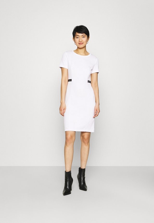 ABITO - Gebreide jurk - bianco