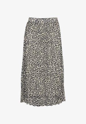 A-line skirt - cement mix